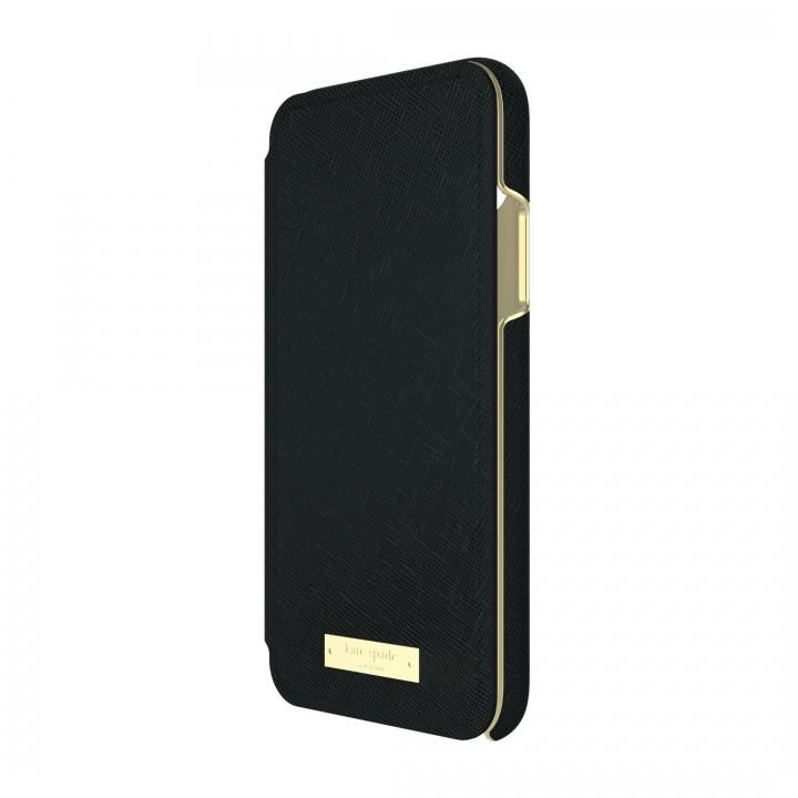 kate spade new york 手帳型ケース ブラック iPhone X