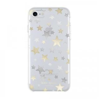 kate spade new york ハードケース Stars Clear/Gold/Silver iPhone 8/7/6s/6