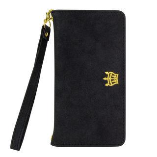 【iPhone XRケース】RODEO CROWNS 手帳型ケース ブラック iPhone XR