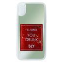 SLY ウォーターミラー 背面ケース 香水/レッド iPhone XR