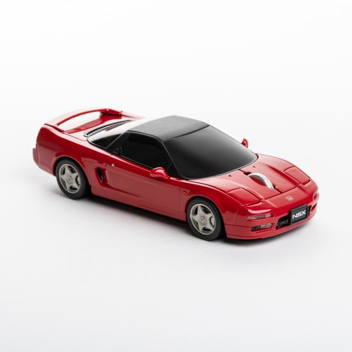 [Cassette]自動車型ワイヤレスマウス HONDA NSX RED_0
