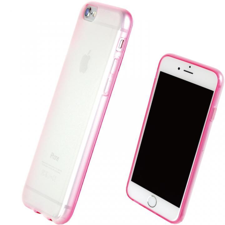 iPhone7 ケース TPUソフトケース 染 ~SO・ME~ ピンク iPhone 7_0