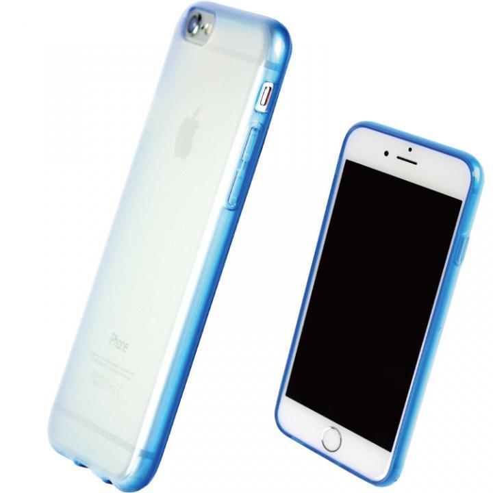 iPhone7 ケース TPUソフトケース 染 ~SO・ME~ ブルー iPhone 7_0