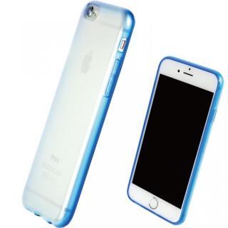 TPUソフトケース 染 ~SO・ME~ ブルー iPhone 7