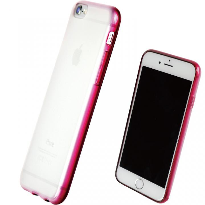 iPhone7 ケース TPUソフトケース 染 ~SO・ME~ ワインレッド iPhone 7_0