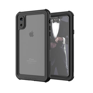 【iPhone XSケース】ノーティカル IP68耐衝撃/防水/防雪/防塵ケース  ブラック iPhone XS【10月中旬】