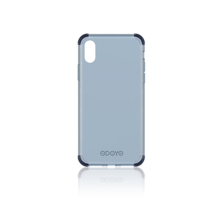 iPhone XS Max ケース ODOYO ソフトエッジ 背面ケース  ネイビーブルー iPhone XS Max_0