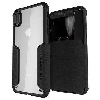 【iPhone XS Maxケース】エグゼク3 背面ケース ブラック iPhone XS Max【9月下旬】