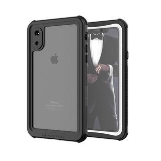【iPhone XSケース】ノーティカル IP68耐衝撃/防水/防雪/防塵ケース  ホワイト iPhone XS【10月中旬】