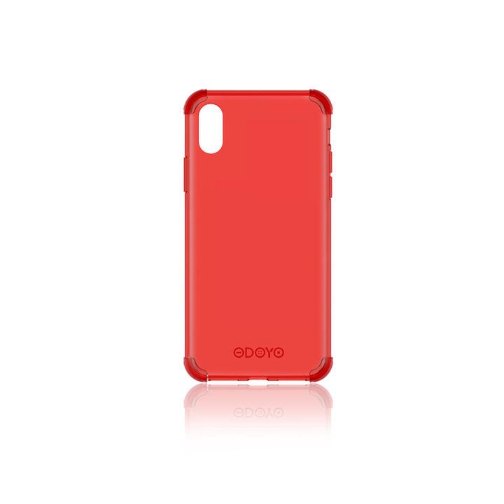 iPhone XS Max ケース ODOYO ソフトエッジ 背面ケース  バーガンディレッド iPhone XS Max_0
