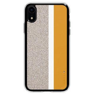 【iPhone XRケース】Athand Stripe デザインケース イエロー iPhone XR