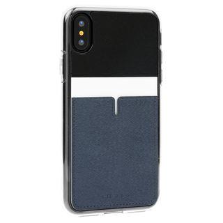 Athand C1 バックポケットケース ブラック iPhone XS【9月下旬】