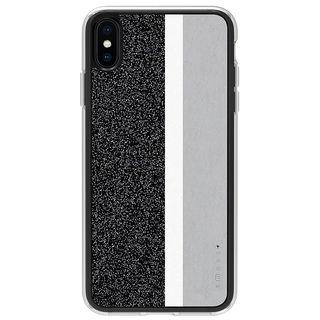 【iPhone XS Maxケース】Athand Stripe デザインケース グレイ iPhone XS Max【9月下旬】