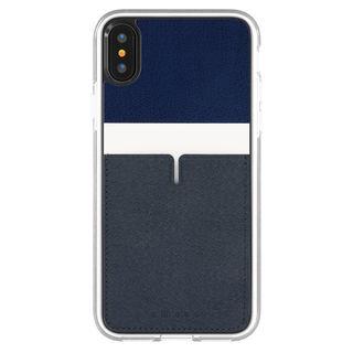 Athand C1 バックポケットケース ネイビー iPhone XS【9月下旬】
