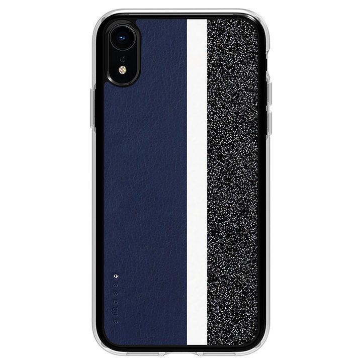 iPhone XR ケース Athand Stripe デザインケース ネイビー iPhone XR_0