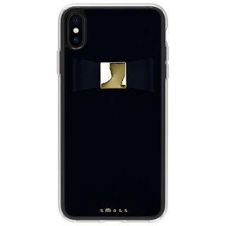 【iPhone XS Maxケース】Athand Rebon 本革 デザインケース ブラック iPhone XS Max