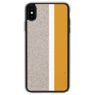 iPhone XS Max ケース Athand Stripe デザインケース イエロー iPhone XS Max