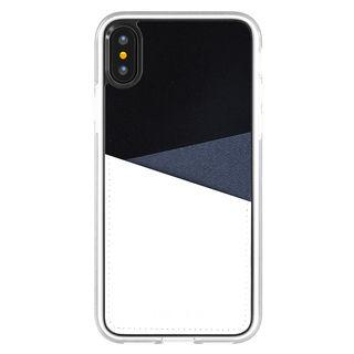 iPhone XS/X ケース Athand O1 バックポケットケース ネイビー iPhone XS/X