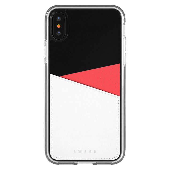 iPhone XS/X ケース Athand O1 バックポケットケース レッド iPhone XS/X_0
