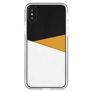 iPhone XS/X ケース Athand O1 バックポケットケース イエロー iPhone XS/X
