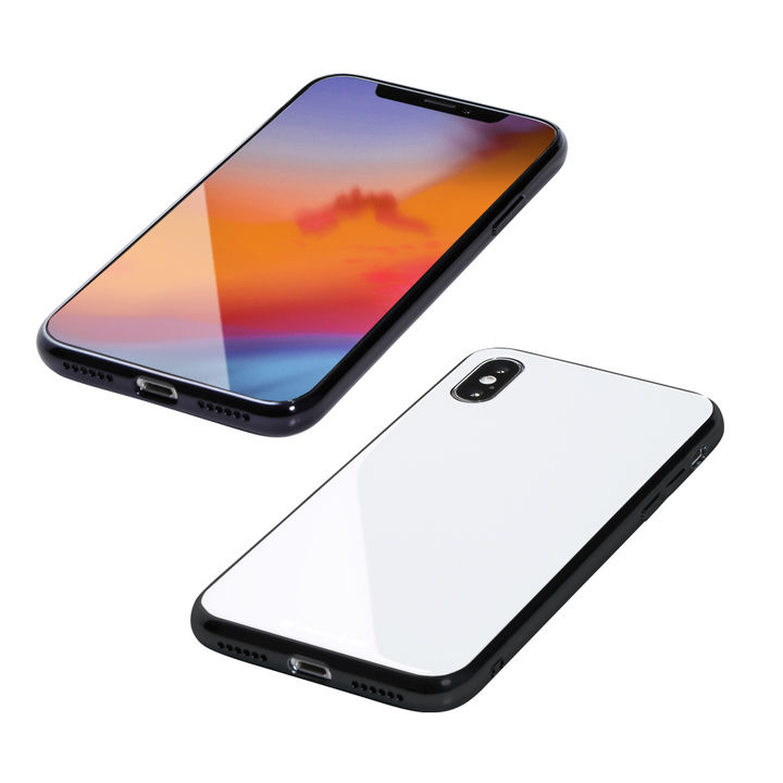 【iPhone XS Maxケース】Deff Hybrid Case Etanze ホワイト iPhone XS Max_0