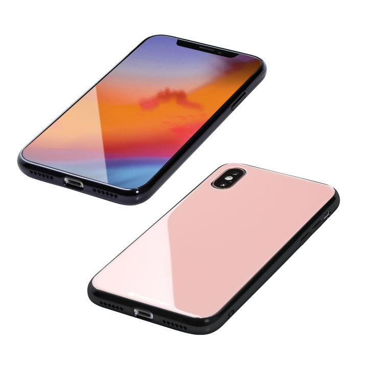 【iPhone XS Maxケース】Deff Hybrid Case Etanze ピンク iPhone XS Max_0