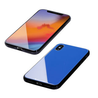 【iPhone XS/Xケース】Deff Hybrid Case Etanze サーフブルー iPhone XS/X【1月中旬】