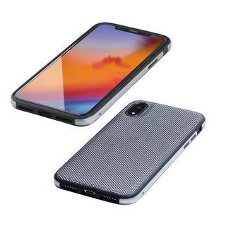 Deff Hybrid Case Etanze ナイロンシルバー iPhone XR【10月中旬】