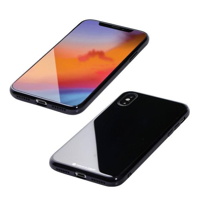 【iPhone XS Maxケース】Deff Hybrid Case Etanze ブラック iPhone XS Max【12月下旬】_0