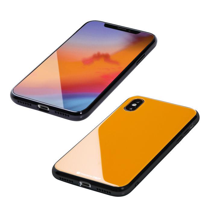 【iPhone XS/Xケース】Deff Hybrid Case Etanze シトラスイエロー iPhone XS/X_0
