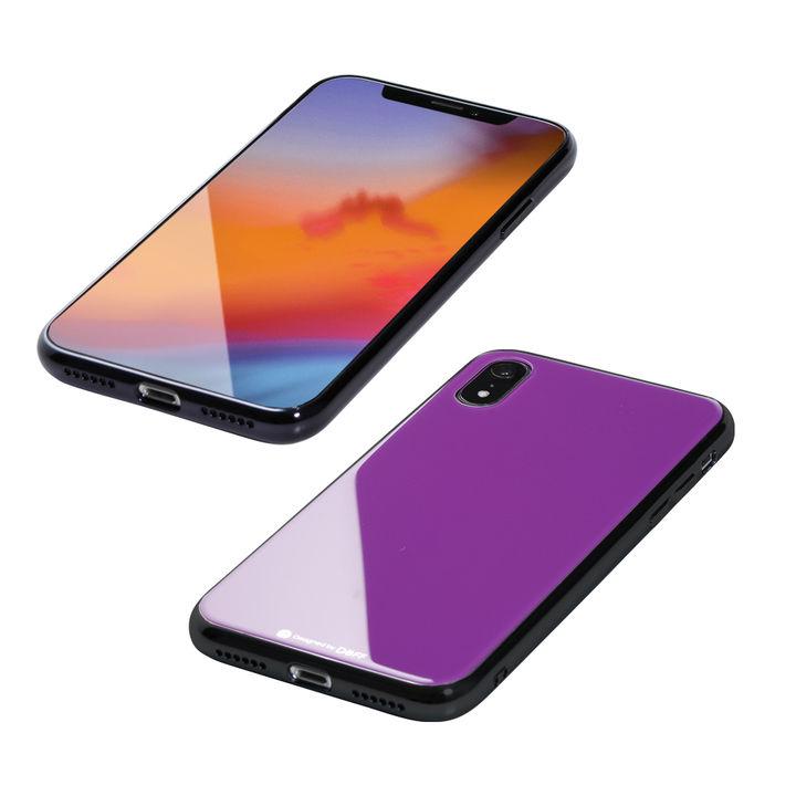 iPhone XR ケース Deff Hybrid Case Etanze パープル iPhone XR_0