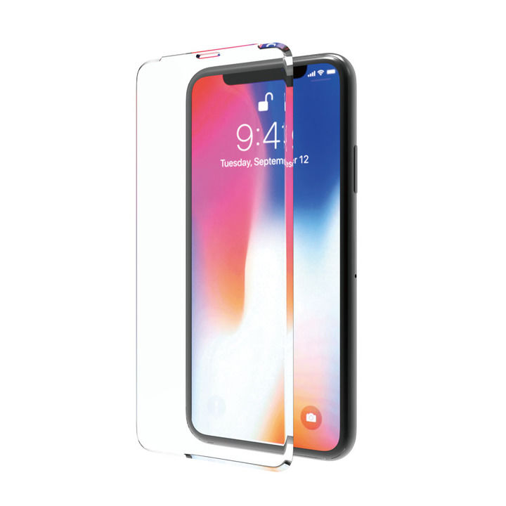iPhone XS/X フィルム ABSOLUTE SUPER ARC 0.33mm強化ガラス iPhone XS/X_0