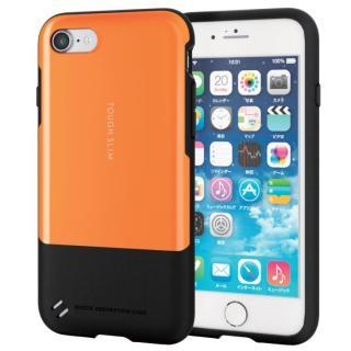 耐衝撃/薄軽ケース TOUGH SLIM オレンジ iPhone 7