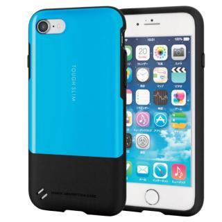 iPhone7 ケース 耐衝撃/薄軽ケース TOUGH SLIM ブルー iPhone 7