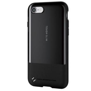 【iPhone7ケース】耐衝撃/薄軽ケース TOUGH SLIM ブラック iPhone 7_1