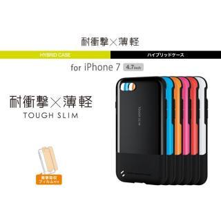 【iPhone7ケース】耐衝撃/薄軽ケース TOUGH SLIM ブラック iPhone 7_4