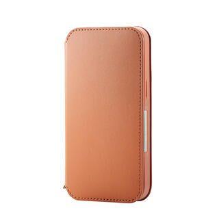 iPhone 13 ケース レザーケース 手帳型 NEUTZ 磁石付き ブラウン iPhone 13
