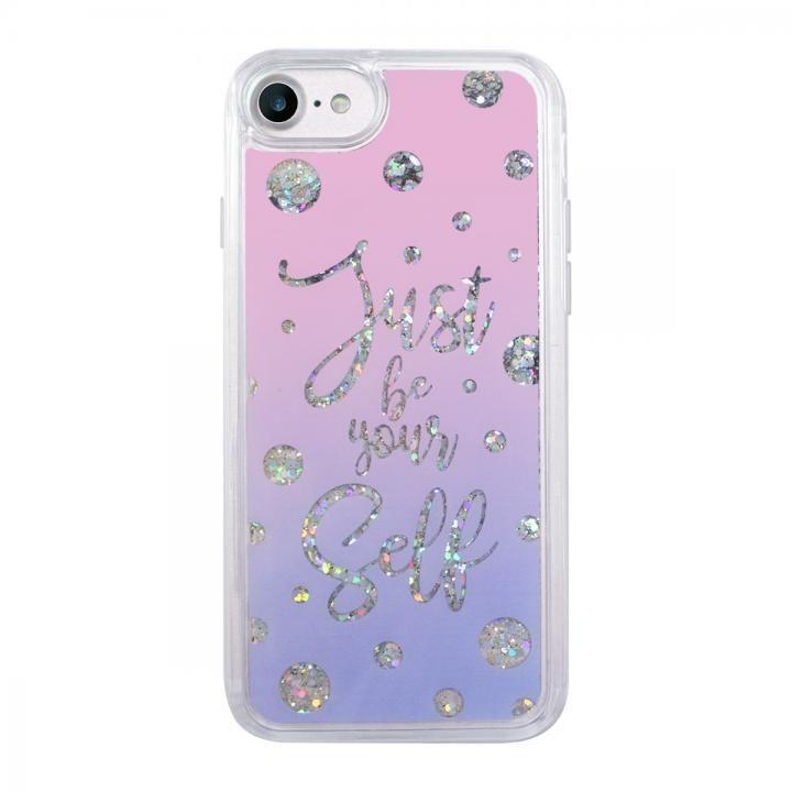 【iPhone8/7ケース】スパークルケース Calligraphy iPhone 8/7_0