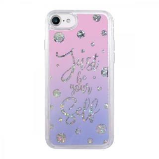 【iPhone7 ケース】スパークルケース Calligraphy iPhone 8/7