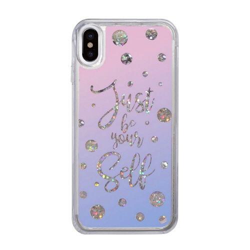 スパークルケース Calligraphy iPhone X