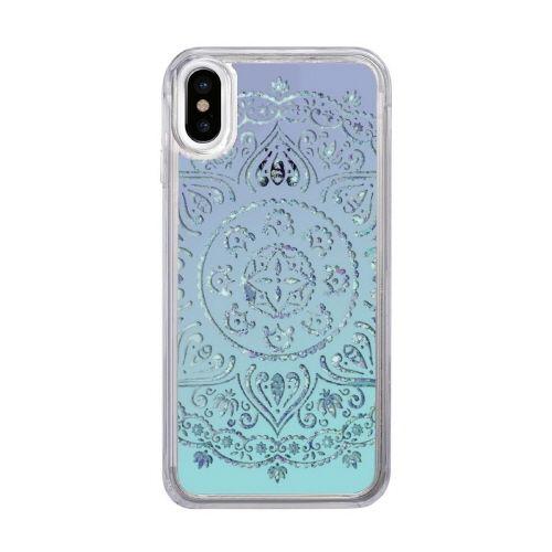 スパークルケース White lace iPhone XS/X