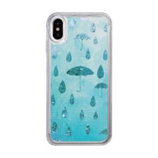 スパークルケース Raining day iPhone X【10月上旬】