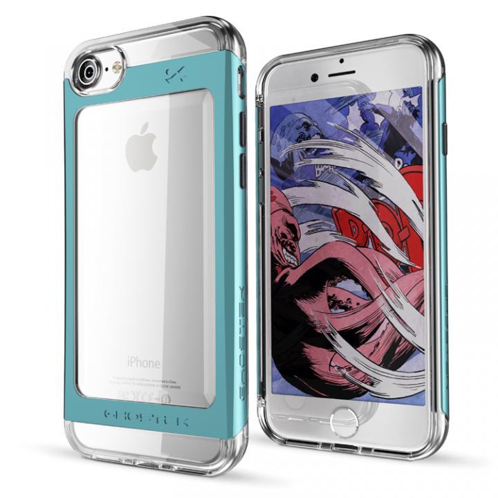 iPhone7 ケース 衝撃吸収アルミバンパー+クリアTPUケース Cloak 2 グリーン iPhone 7_0