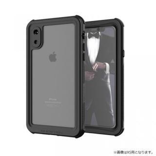 【iPhone XRケース】ノーティカル IP68耐衝撃/防水/防雪/防塵ケース  ブラック iPhone XR【10月中旬】