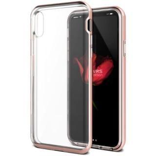 VERUS Crystal Bumper (MIL) ローズゴールド iPhone XS/X