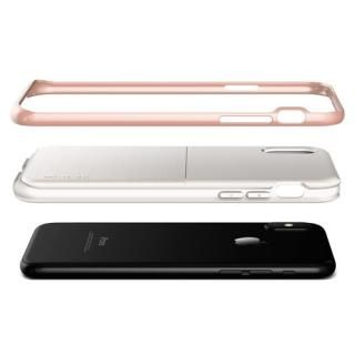 【iPhone XS/Xケース】VERUS High Pro Shield - S (MIL) 耐衝撃ケース ホワイト&ローズゴールド iPhone XS/X_4