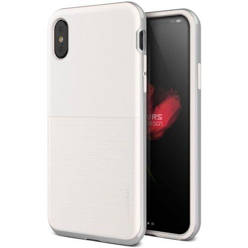 VERUS High Pro Shield - S (MIL) 耐衝撃ケース ホワイト&シルバー iPhone X