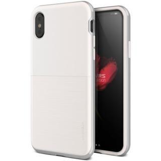 iPhone XS/X ケース VERUS High Pro Shield - S (MIL) 耐衝撃ケース ホワイト&シルバー iPhone XS/X