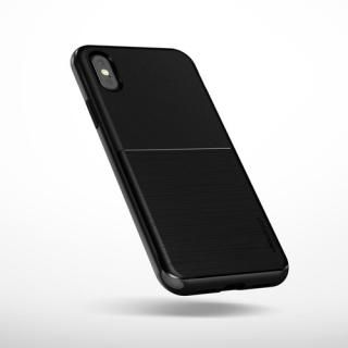【iPhone XS/Xケース】VERUS High Pro Shield (MIL) 耐衝撃ケース メタルブラック iPhone XS/X_1