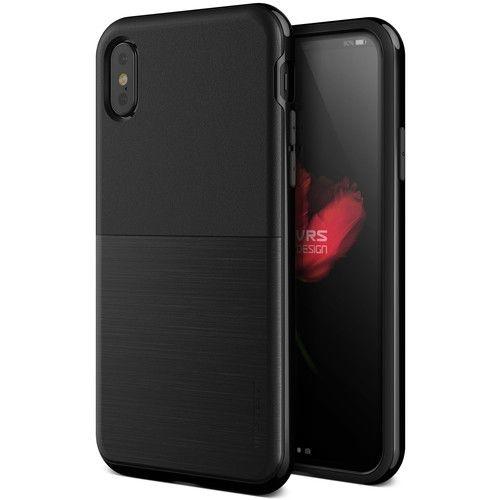 【iPhone XS/Xケース】VERUS High Pro Shield (MIL) 耐衝撃ケース ブラック iPhone XS/X_0